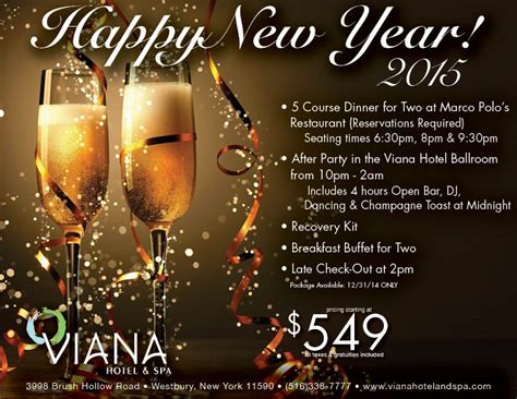 new years hotel packages ring in the new year at viana hotel and spa