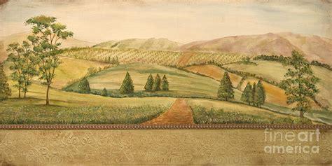 Vintage Landscape Pictures Vintage Tuscan Landscape By Jean Plout