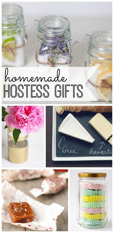 inexpensive hostess gifts homemade hostess gifts diy christmas gifts crafts and