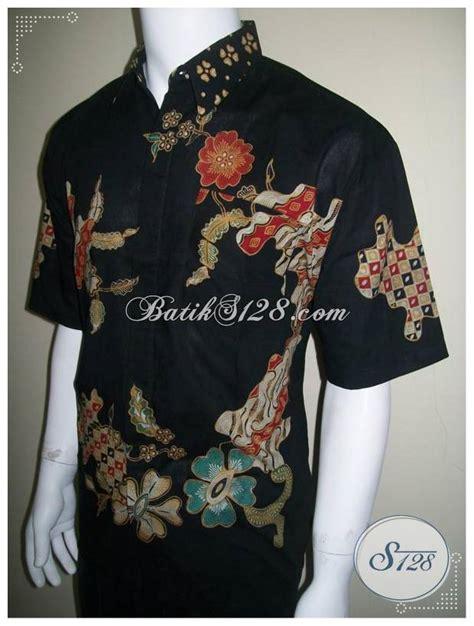 Hem Kerah Benhur Kemeja Fashion Bagus Murah model kemeja batik tulis terbaru harga murah corak bagus