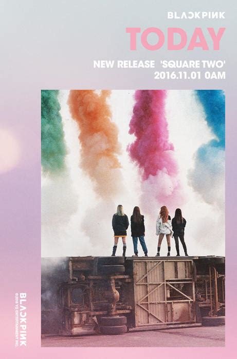 video black pink drop making  video   single stay  group teaser image sbs popasia