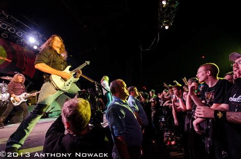 the orbit room concert imagery megadeth at the orbit room 11 26 2013 national rock review