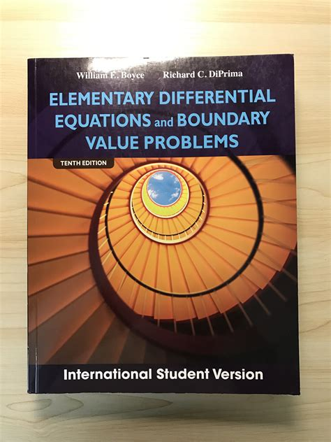 Elementary Differential Equations And Boundary Value Problems 10th Ed 중고장터 미분방정식 교재 팝니다 elementary differential equations and boundary value problems 10th