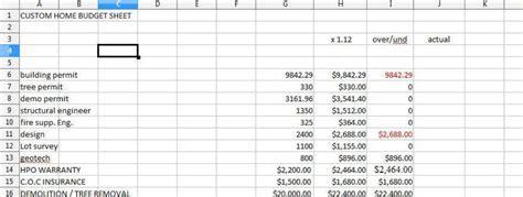 new home cost estimator home building cost spreadsheet pertamini co