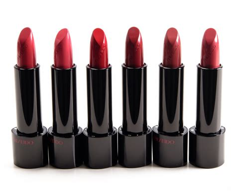sneak peek shiseido lipstick photos swatches