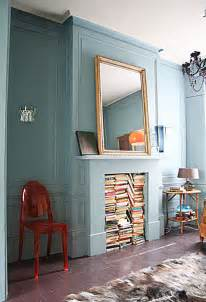 Fake Bookcase What To Do With A Decorative Fireplace Unclutterer