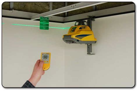 Laser Level Ceiling by Reviews Spectra Hv301g Precision Green Beam Rotary Laser