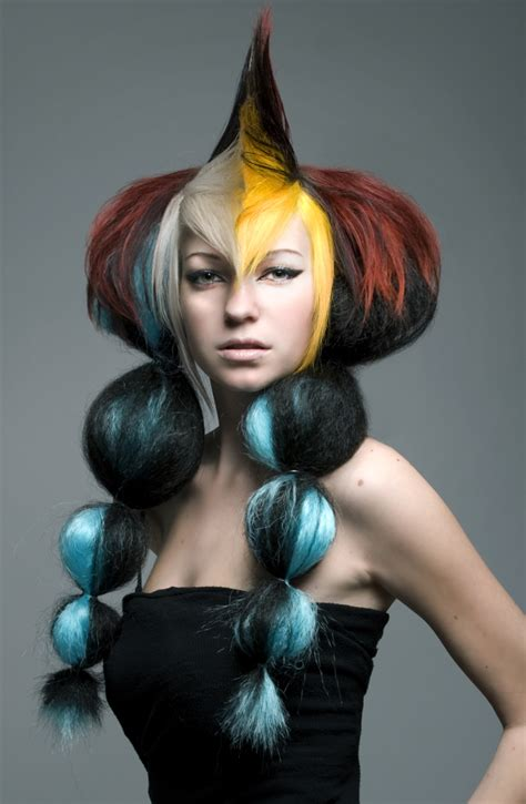 avant guard hair pictures heather burnworth avant garde hairbrained