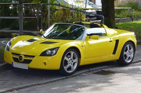 opel roadster opel speedster