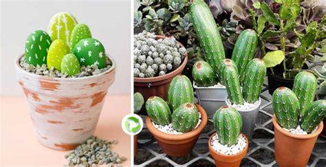 snob comme un pot de chambre finti cactus fai da te con sassi bellissimi 20 idee
