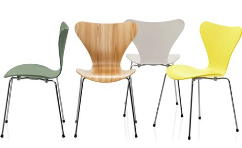 sedie seven series 7 side chair color hivemodern