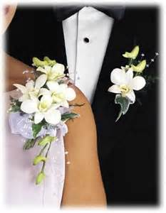 Silk Orchid Flowers - corsage and boutonniere weddings pinterest