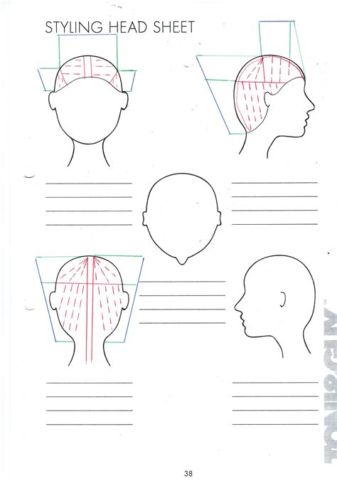 cutting hair layers horizontal or vertical headsheets sineadsvarderingportfolio