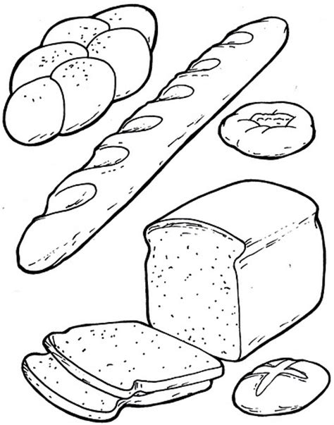 breakfast coloring pages crafts and worksheets for