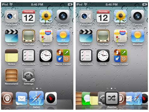 dock themes for iphone cydia overflow tweak for iphone adds cover flow style animations