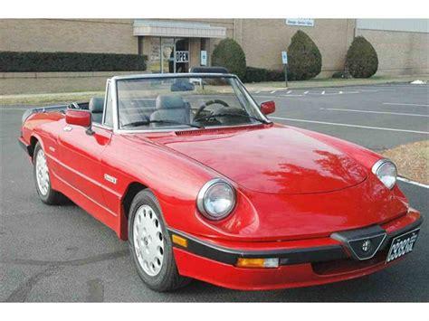 Alfa Romeo Quadrifoglio For Sale by 1988 Alfa Romeo Quadrifoglio For Sale Classiccars