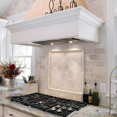 kitchen backsplash ideas with white cabinets silver gas 25 best ideas about travertine backsplash on pinterest