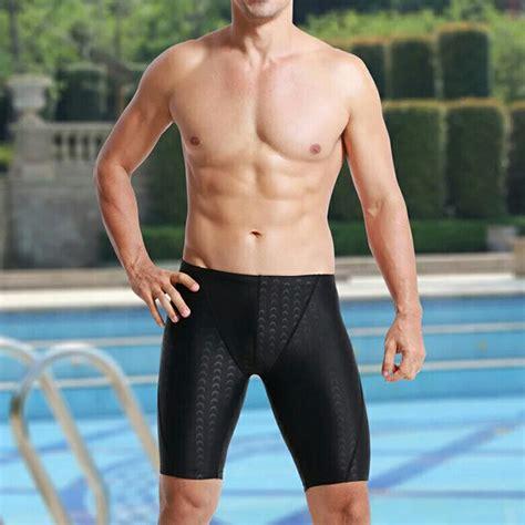 Baju Renang Peria Celana Renang Pria Sharkskin Size Xl Black