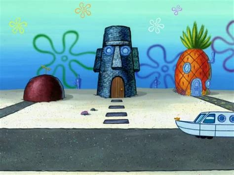 patrick s house spongebob patrick star s house gallery the two faces of squidward encyclopedia spongebobia