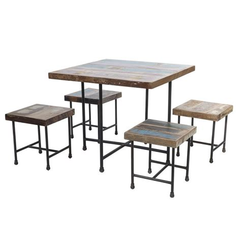 tavolo sgabelli set tavolo e sgabelli industrial arredamento industrial