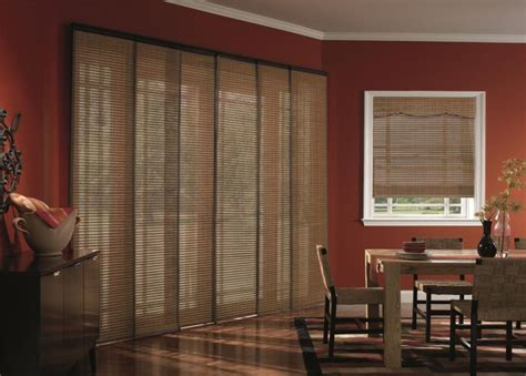 Sliding Panel Track Blinds Patio Doors Sliding Glass Door Blinds Window Treatments Budget Blinds