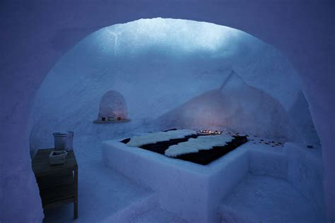 Interior Glass Walls For Homes by Ice Hotels Have You Never Slept In A Real Igloo Ecobnb