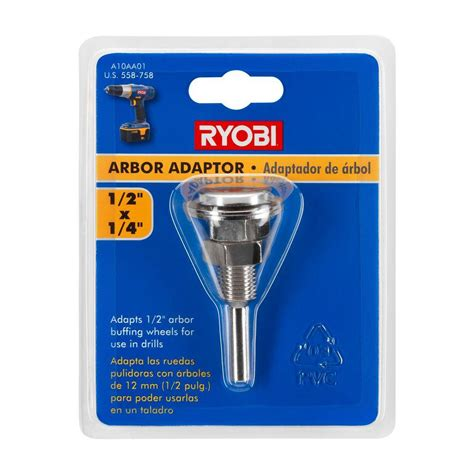 Pictures Of Kitchen Faucets Ryobi 1 2 In X 1 4 In Arbor Adaptor A10aa01 The Home Depot