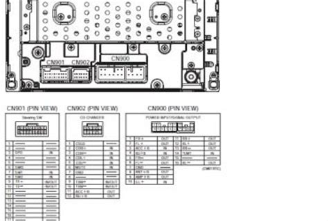 toyota radio wiring diagram wedocable