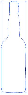 chagne bottle outline yosef s media production how to a bottle in illustrator