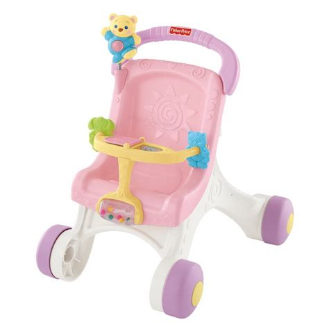 Bugy Walker Fisher Price fisher price brilliant basics stroll along walker 9 month up item m9523 best buy baby