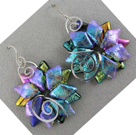 dichroic glass jewelry dichroic glass orderlydisordered