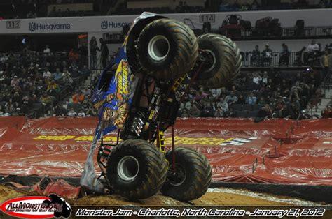 charlotte monster truck show monster jam photos charlotte nc january 21 2012 2pm