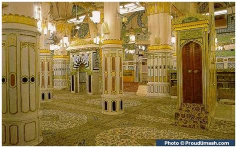 Karpet Masjid Madina riadhul jannah and mehrab islamic landmarks