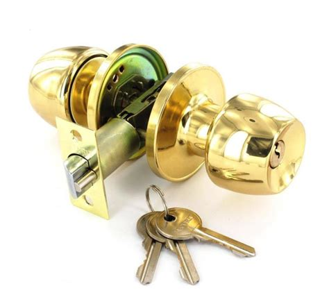 Passage Door Knob Sets entrance privacy passage door knob sets polished brass finish ebay