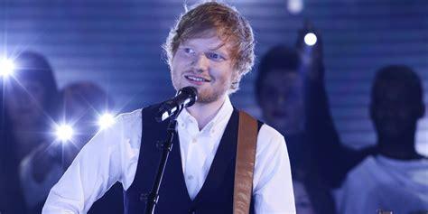 ed sheeran x factor x factor ed sheeran performs new single thinking out