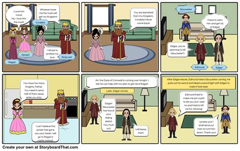 printable version of king lear king lear storyboard by speicher141