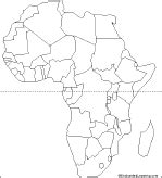 Africa Political Map Blank by Africa Political Map Blank Galleryhip Com The Hippest