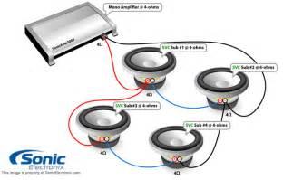 single voice coil wiring diagram 4ohms voice free printable wiring diagrams