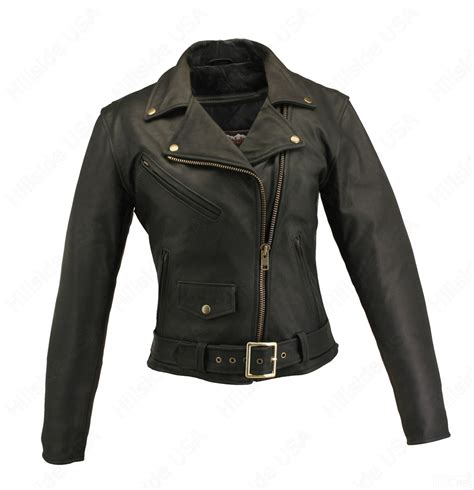 womens leather motorcycle jacket leather motorcycle jacket hillside usa s leather jackets