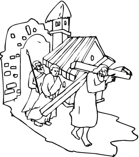 Coloring Pages Jesus On The Cross by Sketches Of Jesus On The Cross Coloring Pages