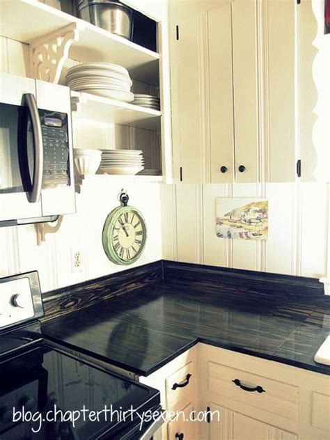Just Countertops by Gorgeous Diy Countertops Just Plain Pine Boards 24