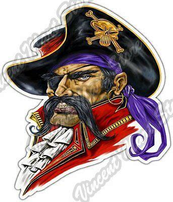 jolly roger boat decal buccaneer pirate jolly roger boat corsair car bumper vinyl