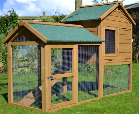 Rabbit Houses by The Manor 6ft Large Rabbit Hutch Outdoor Rabbit