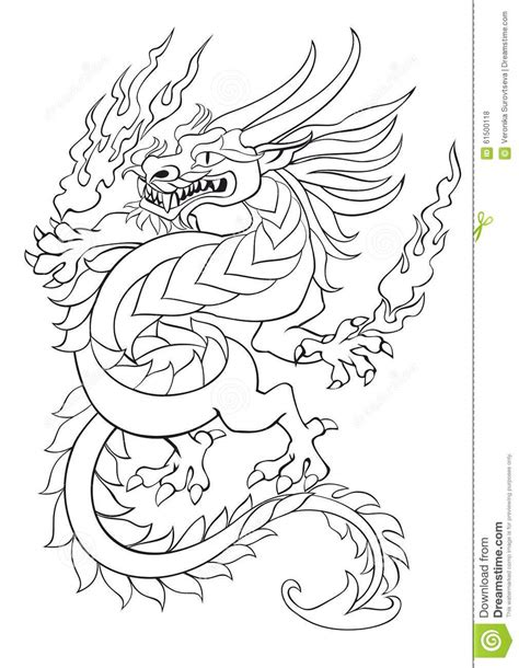 dancing dragon tattoo coloring 31 the best color