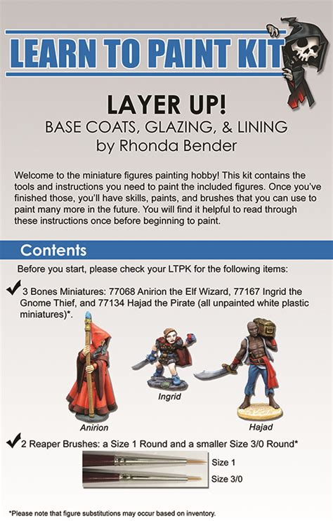 learn to paint in learn to paint kit 2 painting tips advice reaper message board