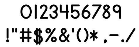 print bold font primer print bold font