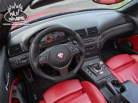 E46 Interior Trim by Bmw E46 M3 Vert 3m 1080 Carbon Fiber Interior Trim Wrap Wu