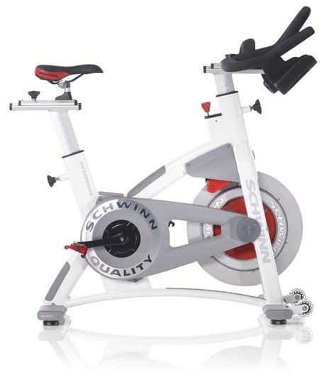 Spinning Bike America White schwinn ac performance plus with carbon blue indoor cycle fitnesszone