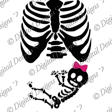 printable baby skeleton iron on skeleton clipart baby skeleton pencil and in color