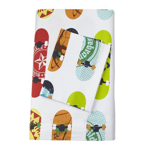 skateboard bedding skateboard percale bedding goodglance